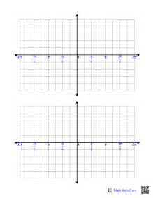 graph paper printable math graph paper - Xy Coordinate Graph Paper