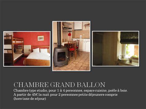 chambre 4 personnes chambre d 39 hôtes le luxhof chambre grand ballon 4