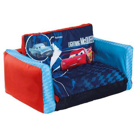 canapé lit gonflable cars 2 apart king jouet