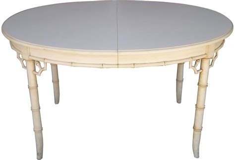 faux bamboo table l faux bamboo dining table