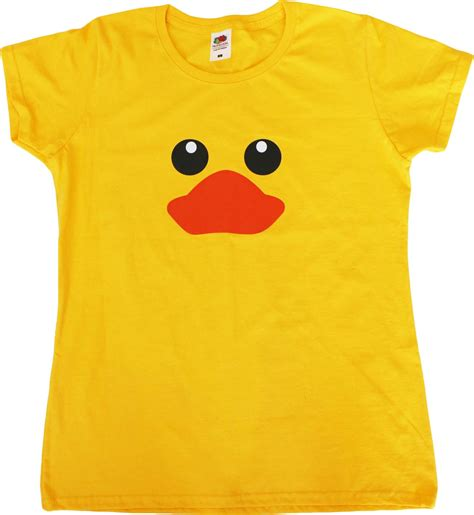rubber duck funny female fit womens t shirt ebay