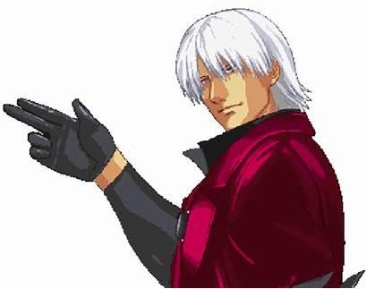 Dante Sparda Cry Devil Pixel Dmc Capcom