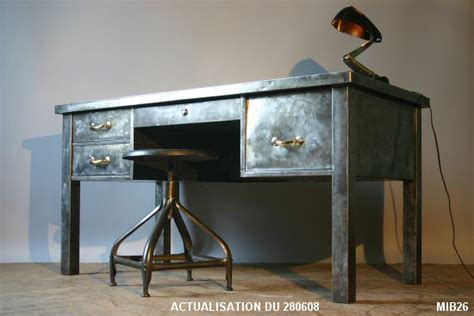 mobilier bureau industriel description des meubles loft mobilier loft
