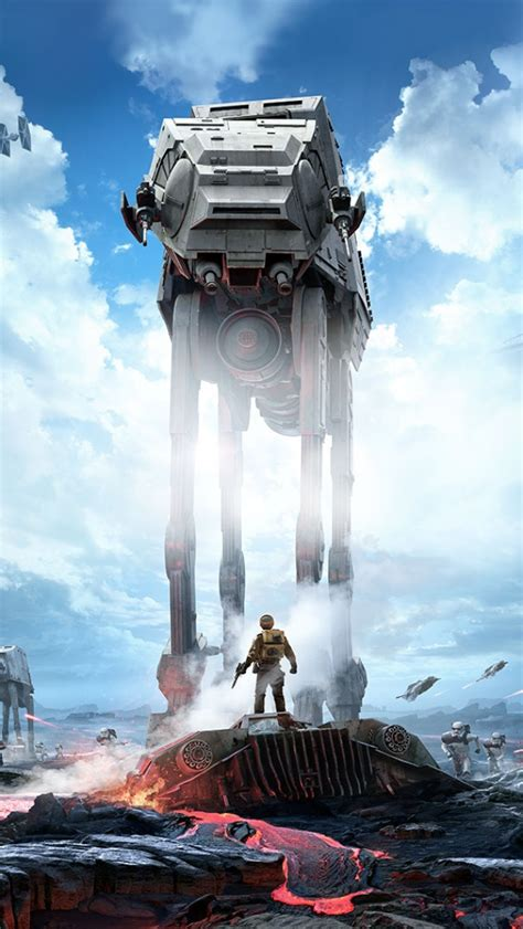 Star Wars Battlefront 2015 Wallpaper 50 Star Wars Iphone Wallpapers For Free Download