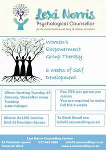 Group Therapy Somerset West - Lexi Norris Counselling