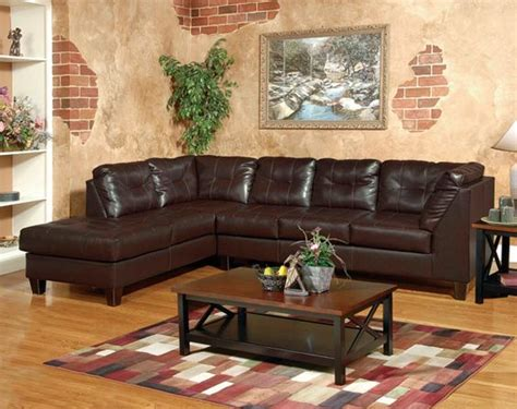 venus chocolate sectional sofa living rooms american