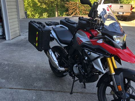 Pelican Bmw by Bmw G310gs 35 Liter Side Luggage Panniers