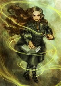 Hermione by daekazu on DeviantArt