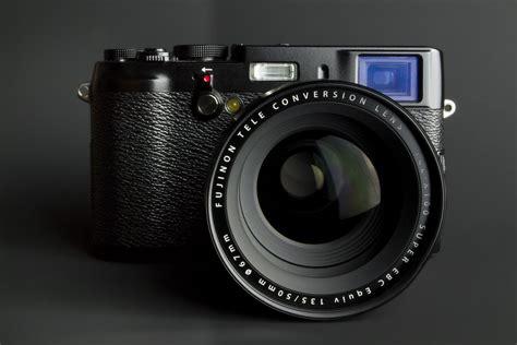 camera fuji xs black  tele converter lens tc