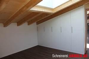 Schrank Für Dachschräge : schrank f r dachschr ge schreinerei arnold ag ~ Sanjose-hotels-ca.com Haus und Dekorationen
