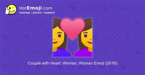 couple  heart woman woman emoji meaning  pictures
