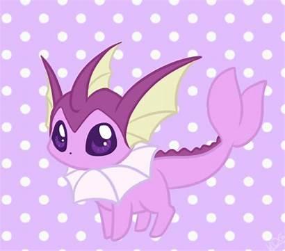 Vaporeon Shiny Pokemon Mondlichtkatze Anime Adorable Deviantart