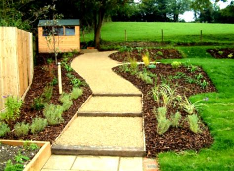 eco friendly landscaping ideas modern eco friendly garden design ideas with gravels and cool green trees homelk com