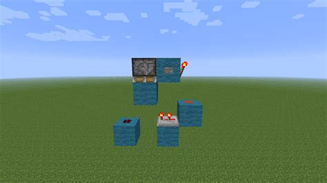 Some Compact Monostable Circuit Designs Redstone