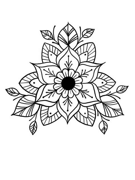 Relax and color | Mandala doodle, Mandala tattoo, Embroidery patterns
