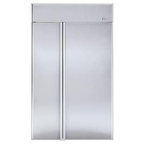 zisnm ge monogram  built  side  side refrigerator monogram appliances