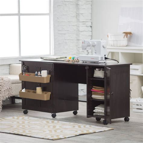 Sauder Sewing Craft Cart Review  Space Saving Desk. Closet Chest Of Drawers. Expandable Desk. Fold Up Study Desk. Drill Hole In Desk For Cables. Wall Laptop Desk. Furniture Desk. Wood Computer Desks. Drawer Under Bed Storage