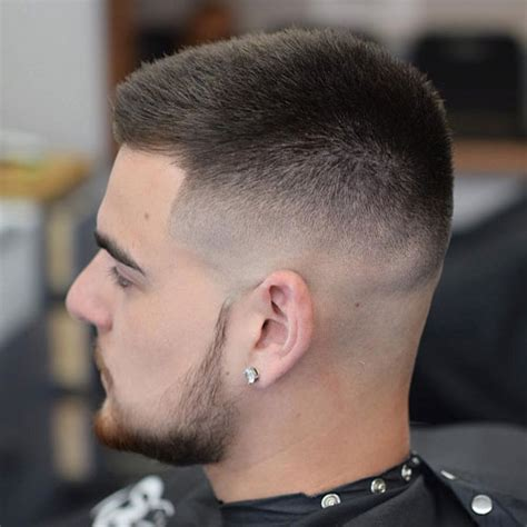 picture  high fade military haircut   modern man