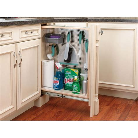 kitchen counter storage rev a shelf 30 in h x 6 in w x 23 in d pull out between 3442