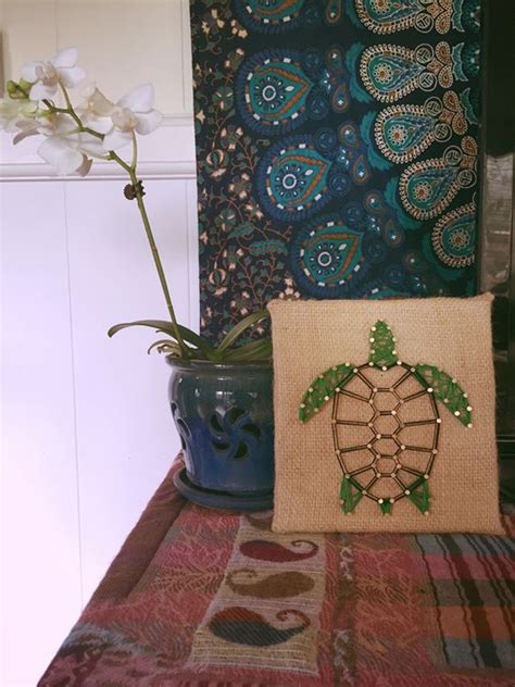 Fun Diy Thread And Nails String Art House Design And