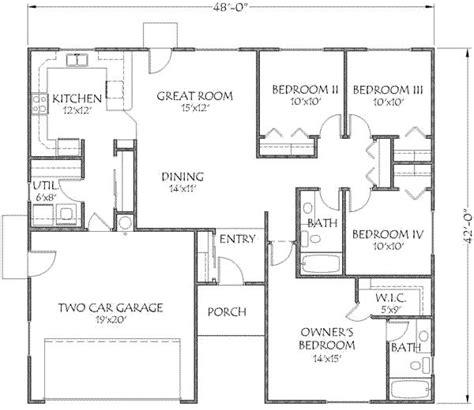 1500 square foot house 1500 sq ft barndominium floor plan joy studio design gallery best design