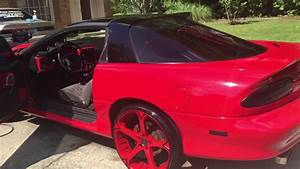 2000 Camaro Ss On Staggered 22s After Detail