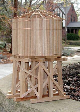 garden railway water tower project