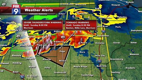 tornado severe thunderstorm warnings blanket central