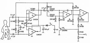 Biopotential    Frequency Converter Composed Of Lm324 - Basic Circuit - Circuit Diagram