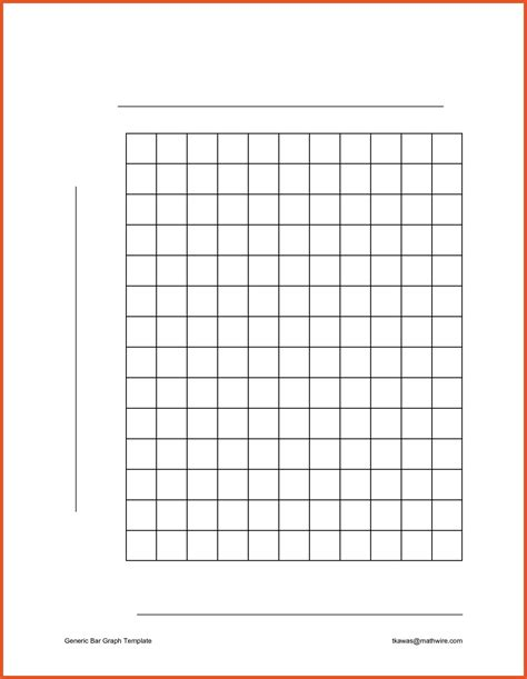 bar graph paper template world  printable  chart