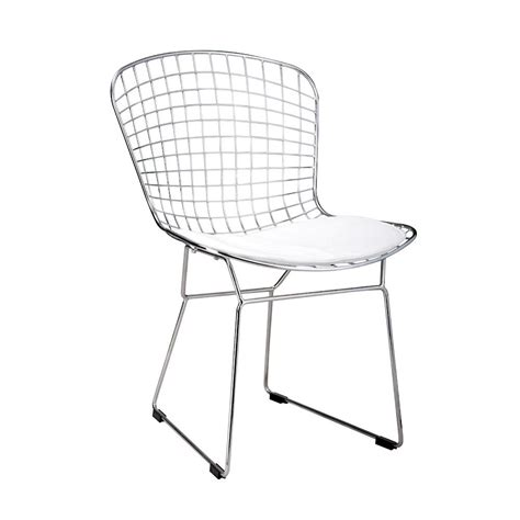 replica harry bertoia wire chair