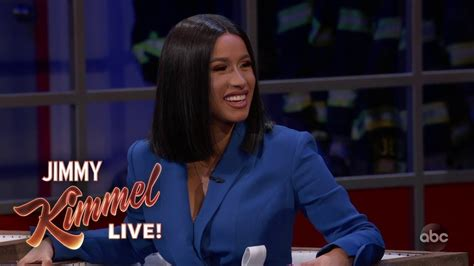 Can You Guess Which Part Of Cardi B's Body Her Baby Broke