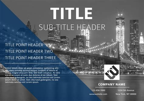 11 Free Event Flyer Templates & Examples