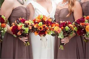 Beautiful bouquet colors for a september wedding from for Where to go for honeymoon in september