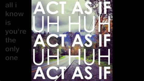 Uh Huh [lyrics]
