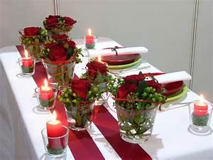 Rosen Im Glas : blumen tischdeko im glas weihnachten wohn design ~ Eleganceandgraceweddings.com Haus und Dekorationen