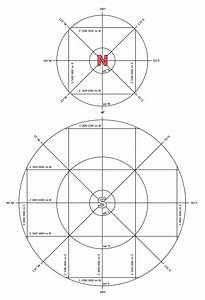 Universal Polar Stereographic Coordinate System
