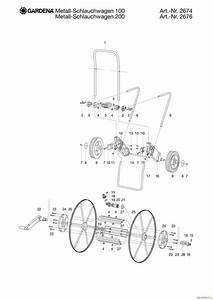 Gardena Schlauchwagen Metall : gardena wassertechnik schlauchwagen metall schlauchwagen 100 ersatzteile online bestellen ~ Buech-reservation.com Haus und Dekorationen