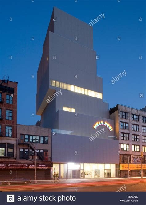 New Museum By Sanaa Stock Photos & New Museum By Sanaa