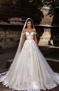 off the shoulder lace embroidered wedding dress 2769965 With embroidered wedding dress