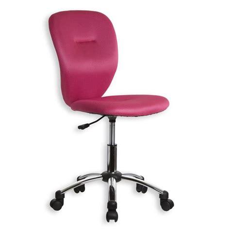 chaise de bureau rose pas cher