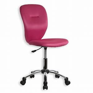 Chaise Bureau Rose : chaise de bureau rose pas cher ~ Teatrodelosmanantiales.com Idées de Décoration