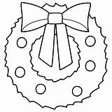 Coloring Wreath Christmas Print Pdf sketch template
