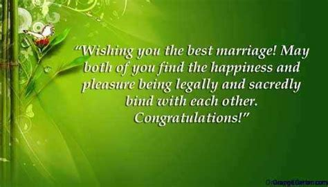 marriage    congratulate newlyweds