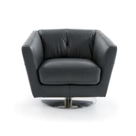 natuzzi editions b596 contemporary swivel barrel chair baer s furniture upholstered chair