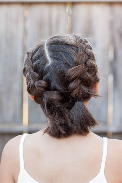 They give you the opportunity to let your natural hair rest and still be able to rock that natural curly look. 5 Braids for Short Hair | Cute Girls Hairstyles