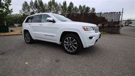 2017 Grand Overland by 2017 Jeep Grand Overland Bright White Clearcoat