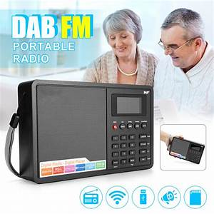 Gtmedia D1 Dab Receiver Portable Digital Dab  Fm Full Band