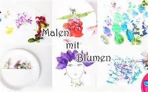Malen Mit Kleinkindern Ideen : 6 ideen zum malen mit blumen video mama kreativ ~ Watch28wear.com Haus und Dekorationen