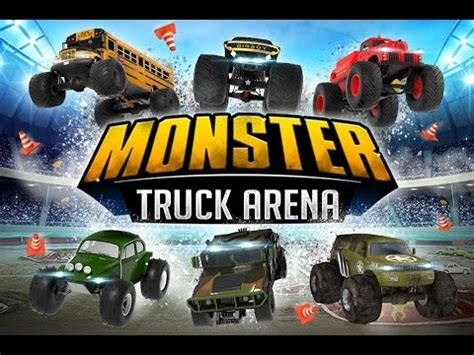 monster truck racing games for kids monster truck arena driver 4 4 car racing games videos